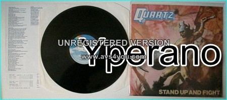 QUARTZ: Stand Up And Fight NWOBHM LP Check samples