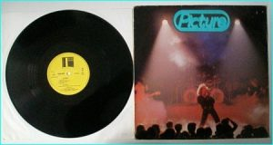 PICTURE: 1 LP debut 1980 Backdoor. VINYL MINT CONDITION. Dutch cult Heavy Metal - N.W.O.B.H.M. Check samples