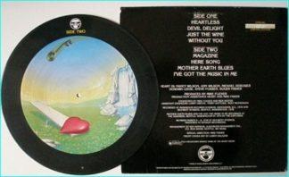 HEART Magazine [Mushroom Records (1978) LP Limited edition numbered picture disc] CHECK VIDEO