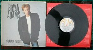 Bryan ADAMS: You want it, you got it LP. Check videos