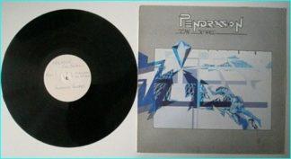PENDRAGON: The Jewel LP. TEST PRESSING WHITE LABEL. check whole album