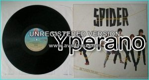 SPIDER: Between The Lines LP. 2 songs from this LP became hit songs for John Waite and for Tina Turner Check live video