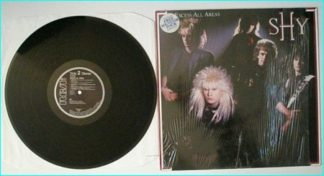 """SHY: Excess All Areas [1987 LP. Contains """"Emergency"""" and a Dokken written hit] Check audio"""