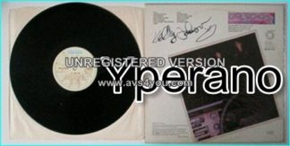 GIRLSCHOOL: Hit and run LP SIGNED autographed black VINYL. Check VIDEOS
