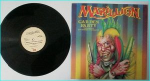 "MARILLION Garden Party 12"" [includes 2 exclusive songs, both Live versions] Check VIDEO"