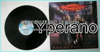 NIGHT RANGER: Greatest Hits Best of LP Check video