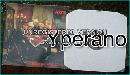 ACCEPT: Russian Roulette LP. Check samples