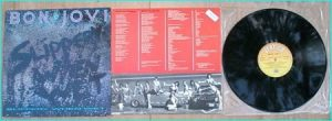 BON JOVI: Slippery When Wet [Mega successful album. Must have LP] Check videos HIGHLY RECOMMENDED