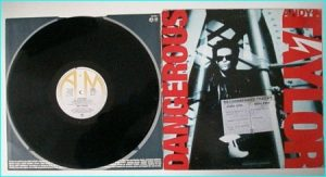 Andy TAYLOR: Dangerous PROMO LP. All songs are COVERS Thin Lizzy, Bad Company, AC/DC. Check video