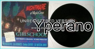 GIRLSCHOOL: Nightmare at Maple Cross SIGNED / autographed LP check VIDEOS