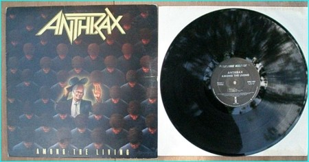 ANTHRAX: Among the living LP [Caught in a Mosh, I am the Law, Indians etc] Check video