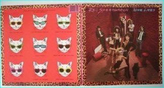 REO SPEEDWAGON: Nine Lives [Fantastic gatefold PROMO LP, must have for every Hard Rock fan] Check samples