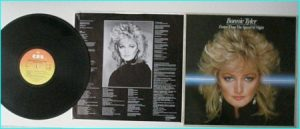 """BONNIE TYLER Faster than the speed of night LP. Incl. """"Total Eclipse Of The Heart"""". Check VIDEO"""