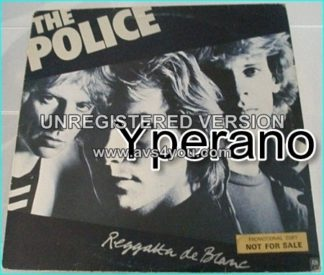 The POLICE: Reggatta de Blanc LP Promotional copy Check videos