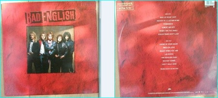 BAD ENGLISH: s/t (1st / Debut) LP PROMO John Waite (Babies), Neal Schon (Santana, Journey). Check videos