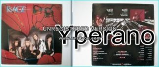 SILENT RAGE: Shattered Hearts LP 1987, US HARD / GLAM ROCK. check VIDEO ALL 11 songs