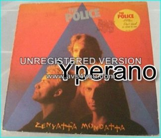 The POLICE: Zenyatta Mondatta LP