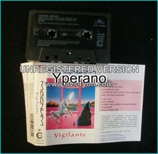 MAGNUM: Vigilante [tape] Check samples