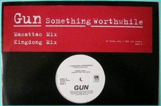 "GUN Something worthwhile [DJ promo only Rare 12"" AMDJ 8 Macattac Mix Kingdon Mix] check VIDEO"
