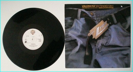 "ZZ TOP: Velcro fly 12"" (extended)//(dance mix) check video"
