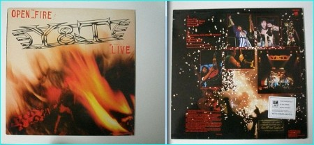 YnT: open Fire LIVE PROMO LP