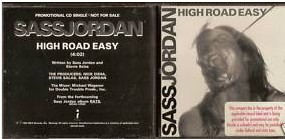 Sass JORDAN: High Road Easy [EMI Radio PROMO CD. Great stuff] CHECK videos