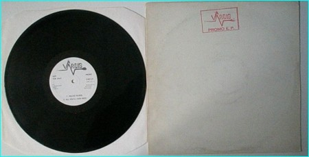 "VARDIS: Promo EP Vinyl Promo 12"" EP classic N.W.O.B.H.M"