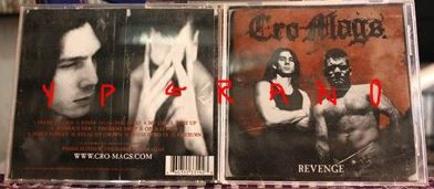 CRO MAGS: Revenge CD [Hardcore Legends reunite] Check samples