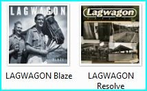 LAGWAGON: Resolve CD £5 n LAGWAGON: Blaze CD £6 and get LAGWAGON: I think my older borther used toFREE
