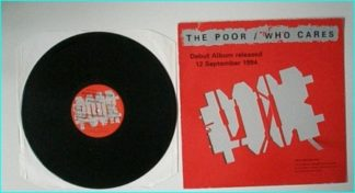 The POOR: Who Cares [Australian PROMO. 4 Track in stencil sleeve very strange cover XPR 2084, AC/DC like] Check 2 VIDEOS