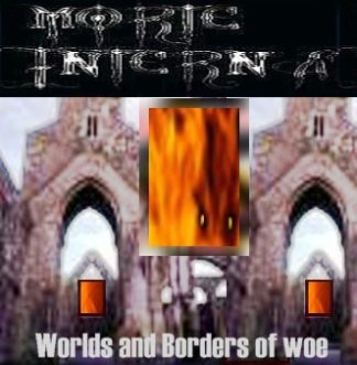 MORTE INTERNA: Worlds and Boarders of Woe. CD £0 Industrial Black Metal from Italia.