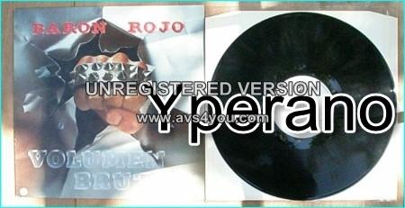 BARON ROJO Volumen Brutal LP 1982 [English Version] TOP Spanish metal. Their best ever! Check video