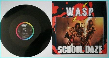 """W.A.S.P. School Daze 12"""" [ brilliant version of the classic Paint it Black] check audio"""