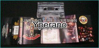 GUNS N ROSES: Appetite for destruction tape (5 skulls cover)