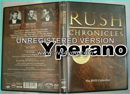 RUSH: Chronicles DVD