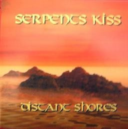 SERPENTS KISS: Distant Shores CD demo Promo. free £0 for orders of £15+. Melodic Power Metal, HAMMERFALL w. female vocals