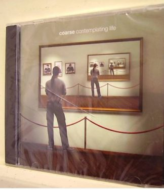 COARSE: Contemplating Life CD Self released Alternative / grunge / rock n roll 11 song CD.