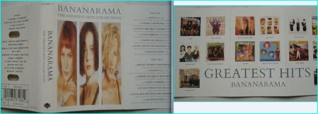 Bananarama The greatest hits collection tape