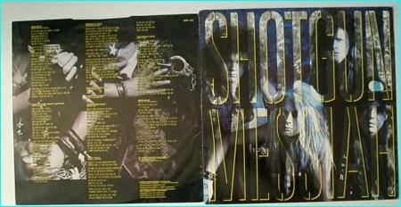 SHOTGUN MESSIAH: Shotgun Messiah LP 1st, debut 1989  Deadly Glam Metal   Check