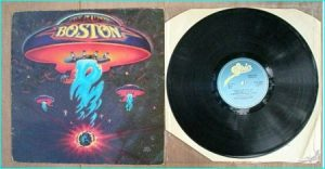 """BOSTON: S/T [Classic Debut LP album. Timeless Hard Rock. Includes """"More Than A Feeling""""] Check video"""