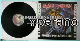 IRON MAIDEN: World Piece Tour 83 Volume TWO (2). LP BOOTLEG LIVE 26-5-83 (Released Nov. 1983)
