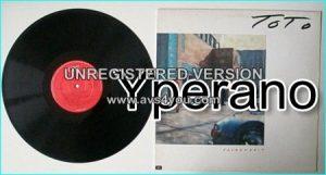 TOTO: Fahrenheit LP w. inner with lyrics. Check VIDEOS