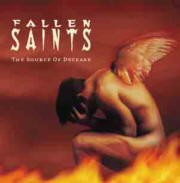 FALLEN SAINTS: The Source of Decease CD. Full-length, Self-released German Death Metal. Check AUDIO SAMPLES