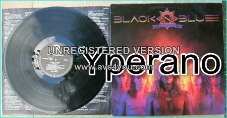 BLACK N BLUE In The Heat LP PROMO [Top US style Hard Rock Heavy Metal album] Check samples