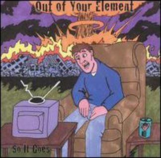 OUT OF YOUR ELEMENT: So it Goes CD Poppy punk. Check all samples Very low price / bargain