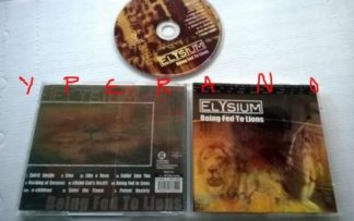 ELYSIUM: Being Fed to Lions CD MUST HAVE Australian ROCK CD Check samples