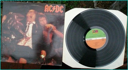 ACDC: If you want Blood (live) LP