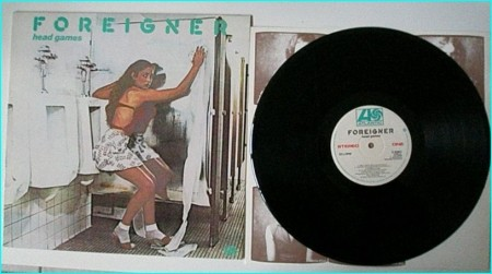 FOREIGNER: Head Games LP Check video