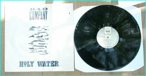 BAD COMPANY: Holy Water LP Promo
