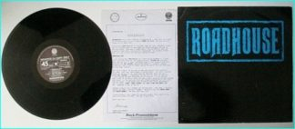 "ROADHOUSE: 4 song PROMO 12"", Def Leppard guitarist unreleased songs (not on the LP or CD] £0 FREE for vinyl orders of £25"
